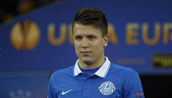Евгений Коноплянка, фото: dynamo.kiev.ua