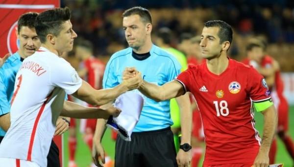 Польша разгромила Армению благодаря хет-трику Левандовски в матче отбора на ЧМ-2018