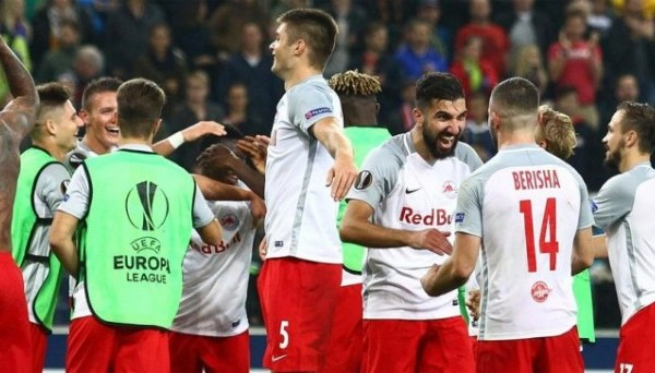 Прогноз на матч Ред Булл Зальцбург - Марсель (03.05.2018)