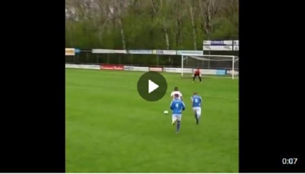 Футболист подкатом сбил игрока своей команды