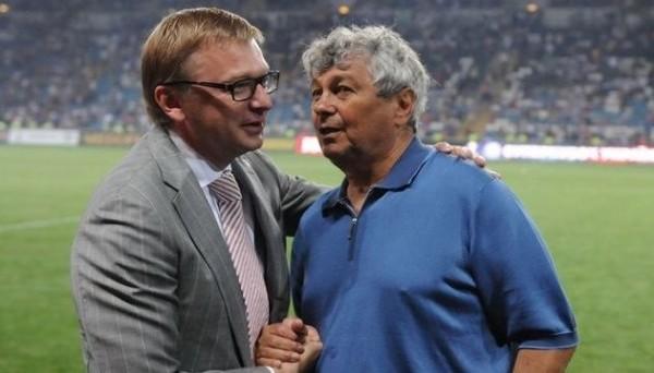 Сергей Палкин и Мирча Луческу