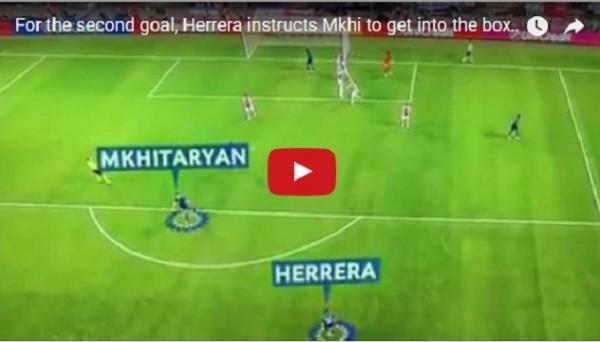 Как Эррера отправил Мхитаряна забивать второй гол Аяксу