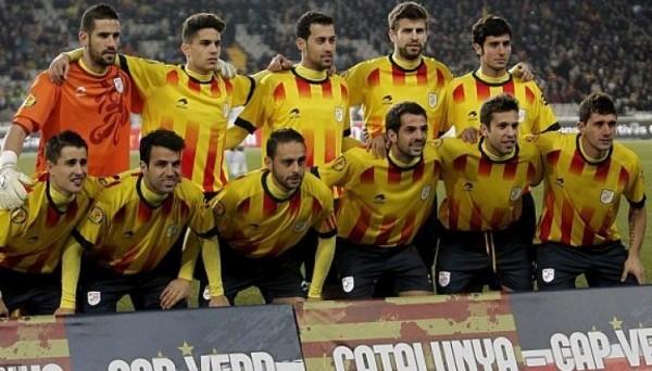 Вот такой бы могла быть сборная Каталонии