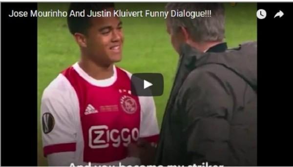 Что сказал Моуриньо Клюйверту-младшему после финала Лиги Европы
