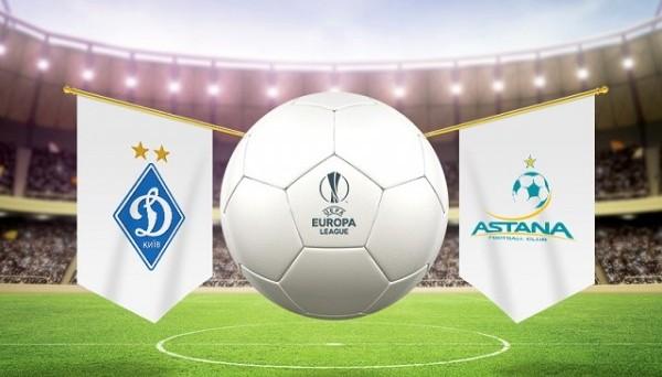 Динамо Киев - Астана прогноз на матч (20.09.2018)