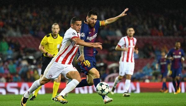 Прогноз на матч Олимпиакос - Барселона (31.10.2017)