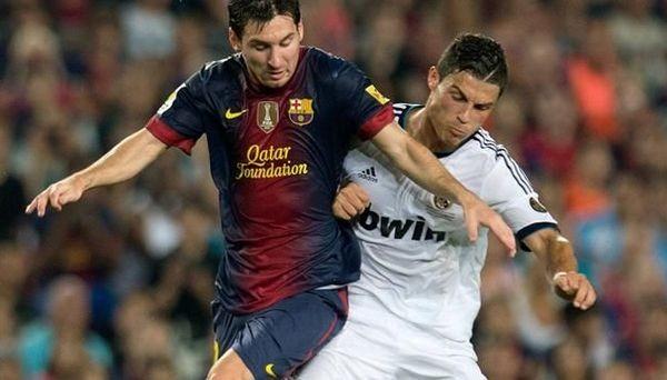 Барса - Реал 2:2. Месси и Роналду забили