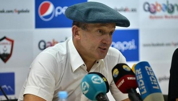 Тренер Габалы Роман Григорчук.