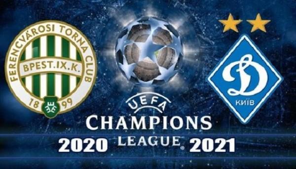 Ференцварош – Динамо Киев прогноз на матч (28.10.2020)