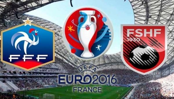 Франция – Албания.