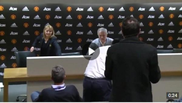 Самая короткая пресс-конференция Моуриньо