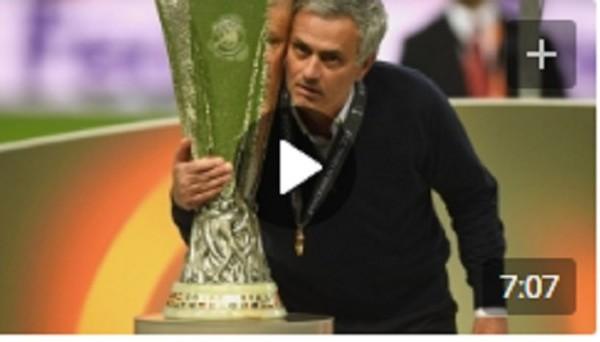 Видео церемонии награждения Манчестер Юнайтед