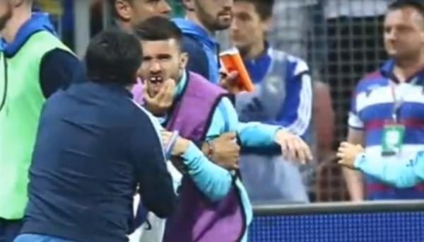 Матч Босния и Герцеговина - Греция закончился массовой дракой и выбитыми зубами