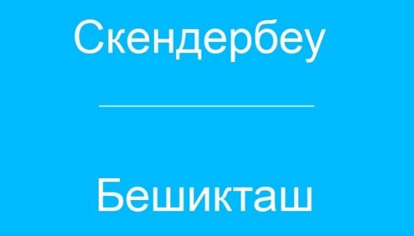 Прогноз на матч Скендербеу - Бешикташ