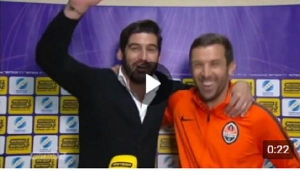 Эмоции Фонсеки и Срны после завоевания досрочного чемпионства Украины
