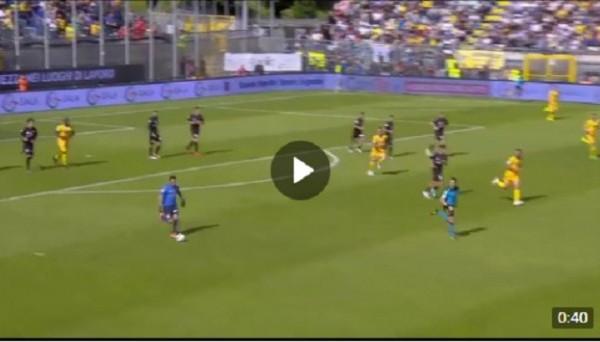 Вратарь Фрозиноне переиграл в FIFA