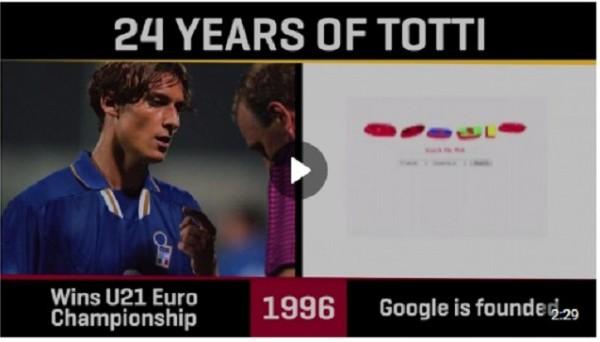 Все в мире менялось, только Франческо Тотти продолжал играть и забивать