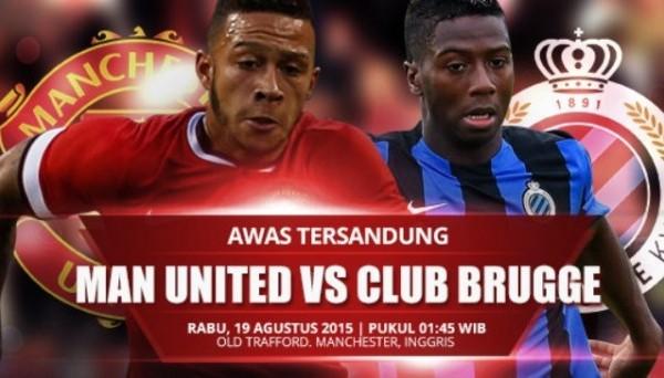 Манчестер Юнайтед - Брюгге прямая видео трансляция онлайн Манчестер - Брюгге смотреть онлайн 18.08.15