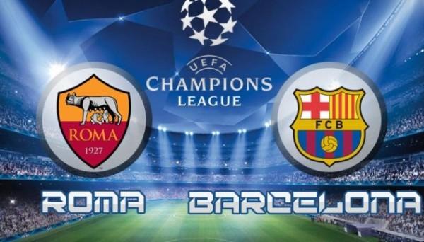 Рома – Барселона.
