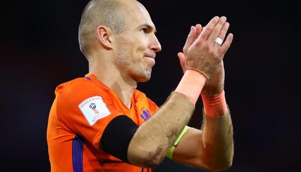 Роббен завершил выступление в сборной Нидерландов