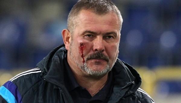 Фанаты 'Днепра' побили президента СК 'Днепр-1' и их болельщиков