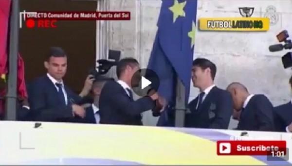 Как Роналду пытался заставить стесняющегося Морату выступить перед фанатами Реала