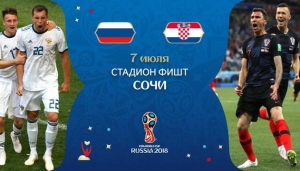 Россия – Хорватия.