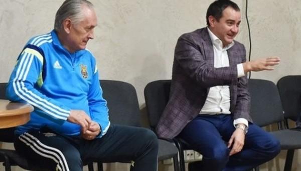 Михаил Фоменко и Андрей Павелко
