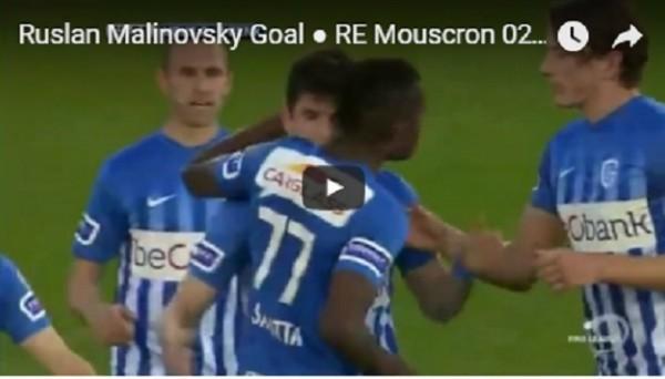 Украинец Малиновский забил невероятный гол в чемпионате Бельгии