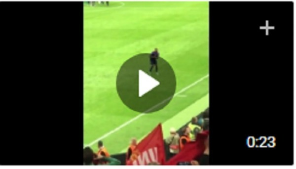 Танец Погба после победы в Лиге Европы