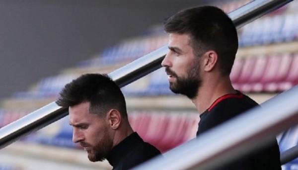 Месси и Пике поссорились из-за политики во время матча Атлетико – Барселона
