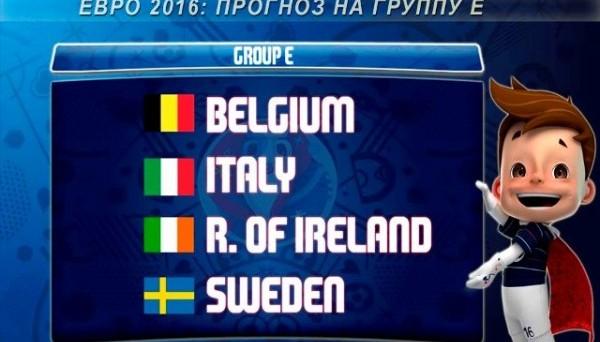Прогнозы на Евро-2016. Группа E