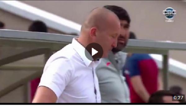 Странный автогол в финале кубка Азербайджана