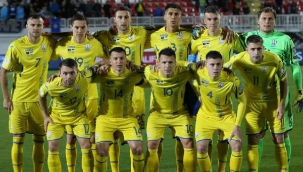 Украина сыграет товарищеский матч против Словакии