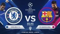 Прогноз на матч Челси - Барселона (20.02.2018)