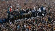 Шесть фанатов «Ювентуса» пострадали во время чемпионского парада. Двое – в тяжелом состоянии
