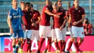 Матч 1/8 кубка Италии Рома - Эмполи.