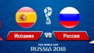 Испания - Россия.