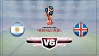 Аргентина – Исландия.