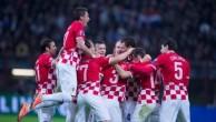 Сборная Хорватии.