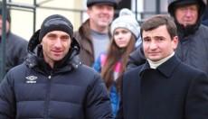 Колос и Караманиц, фото: fcgornyak.dp.ua
